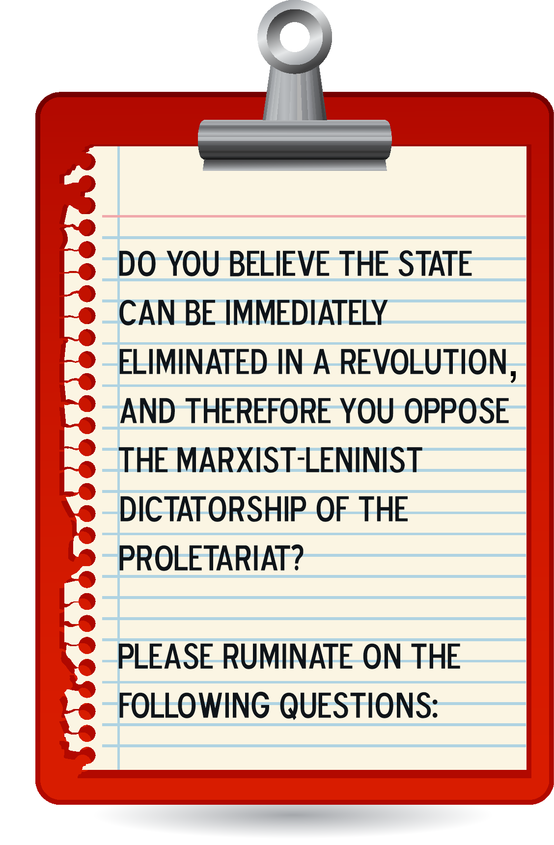 Anti-Authoritarianism Is Counter-Revolutionary